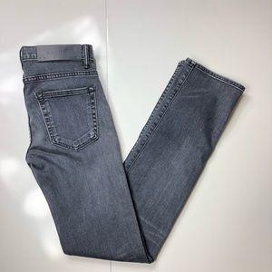 NWT Helmut Lang slim straight jeans in medium grey